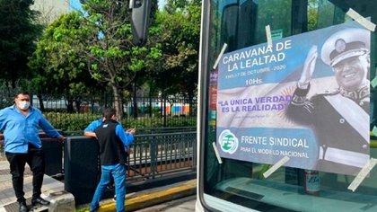 Mobilisation le 9 juillet: Hugo Moyano fait sa «caravane de fidélité» à l'Obélisque