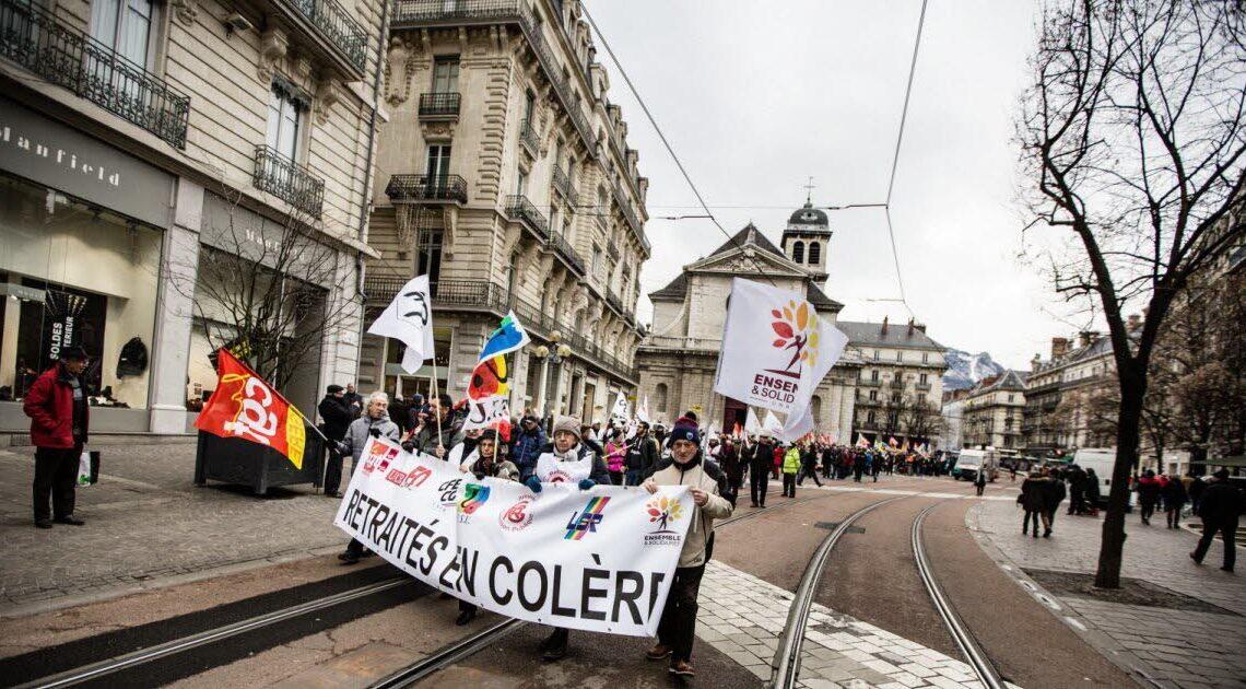 Isère. Grenoble : les retraités se mobilisent ce mardi