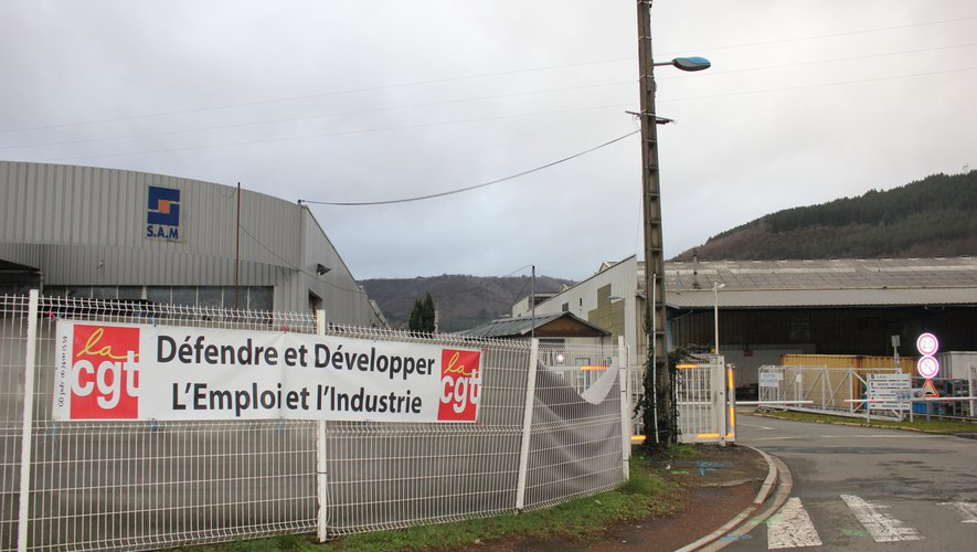 Aveyron :  les représentants CGT du personnel de SAM à Viviez ne veulent pas d'une reprise par l'ancien PDG
