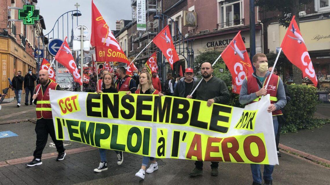 Aéronautique: nouvelle manifestation à Albert pour sauver l'emploi samedi 5 décembre
