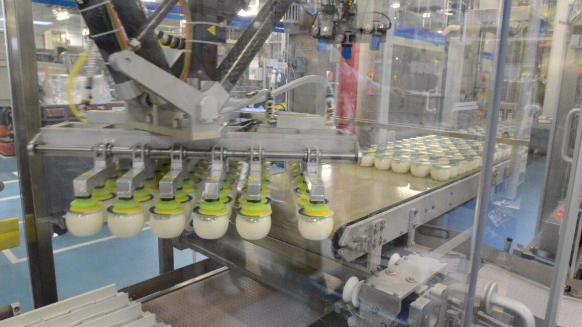 L'usine Danone Pays de Bray ouvre une nouvelle ligne de production en 2021